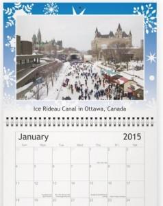 2015 Skating Calendar