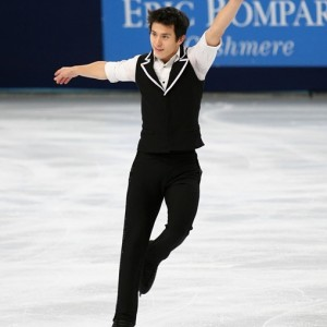 Patrick Chan in Paris