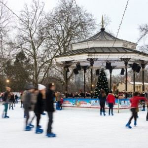 Winter Wonderland rink
