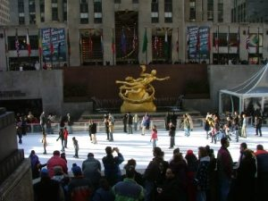 rockfeller ice rink new york